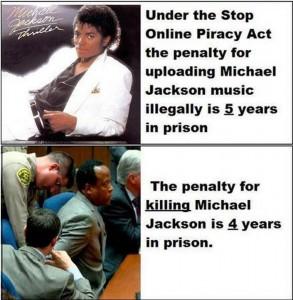 Michael Jackson and SOPA
